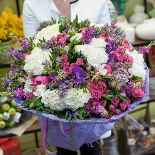 Букет цветов Сады Семерамиды