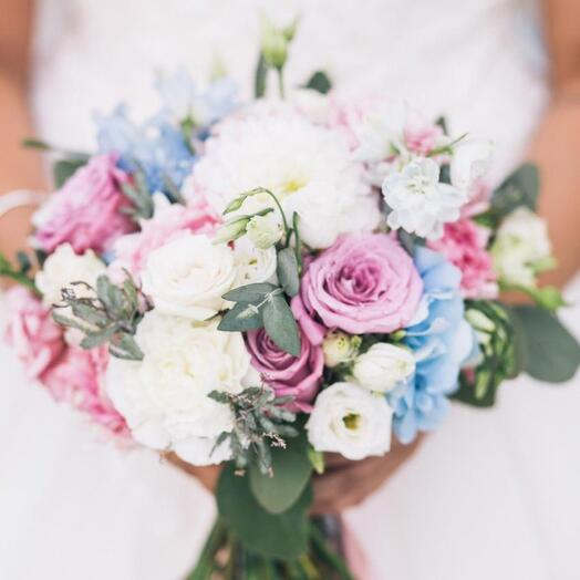 Круглый букет Невесты