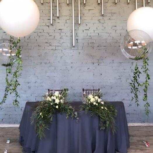 Оформление свадьбы LOFT