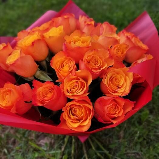 Роза кения 31 шт