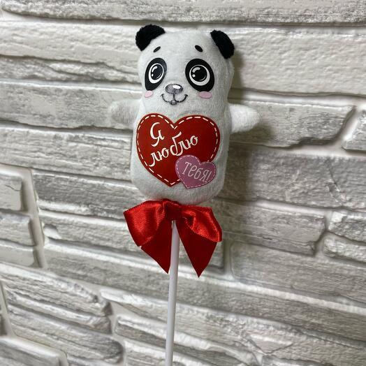 Топпер для букеты Панда