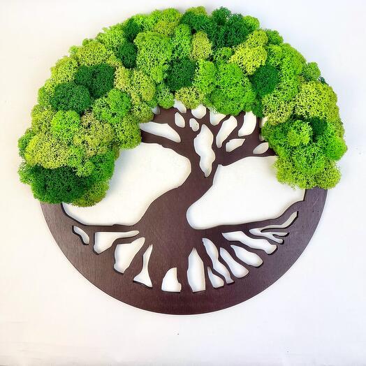 2 Дерево жизни зелёное