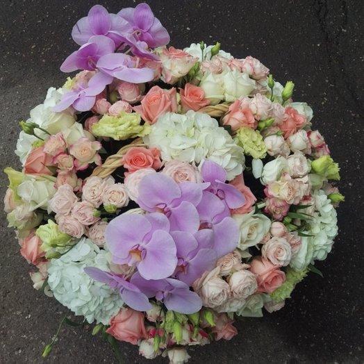 Пинк Панаш: букеты цветов на заказ Flowwow