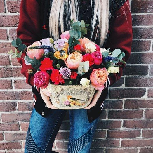 Капшо Летний день: букеты цветов на заказ Flowwow
