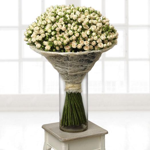 101 кустовая роза 60 см