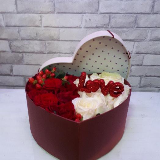 Love: букеты цветов на заказ Flowwow