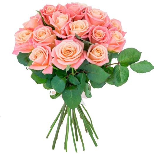 Роза Мисс Пигги: букеты цветов на заказ Flowwow