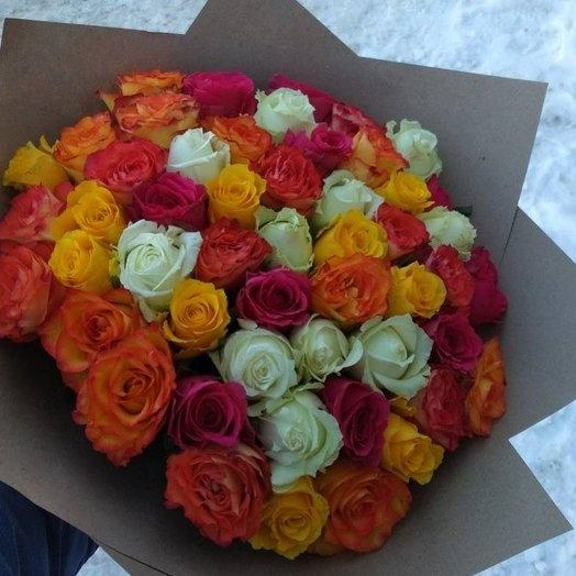 Букет 51 роза кения: букеты цветов на заказ Flowwow