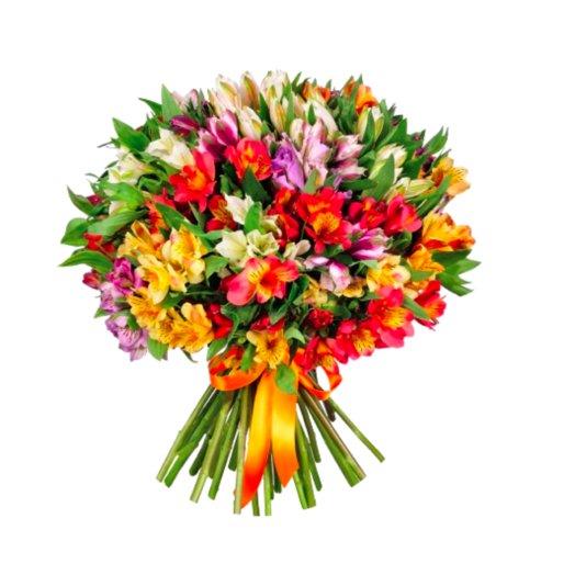 Букет 55 альстромерий: букеты цветов на заказ Flowwow