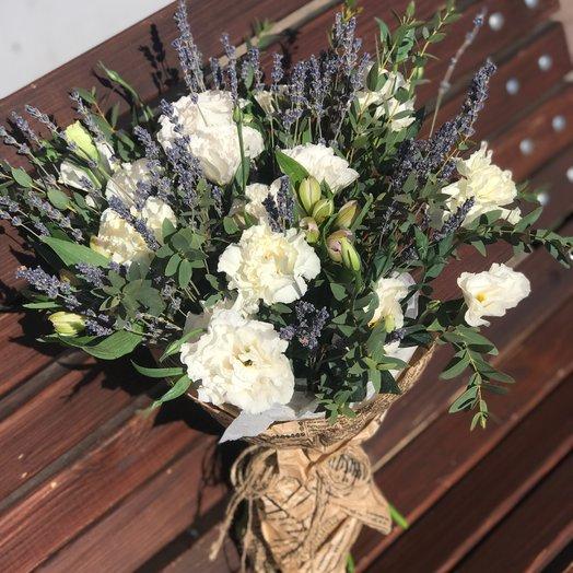 Лавандовые облака: букеты цветов на заказ Flowwow