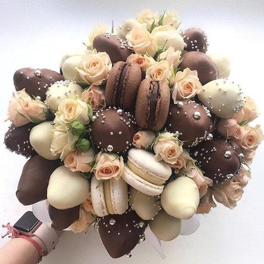 Букет в Коробке классика: букеты цветов на заказ Flowwow