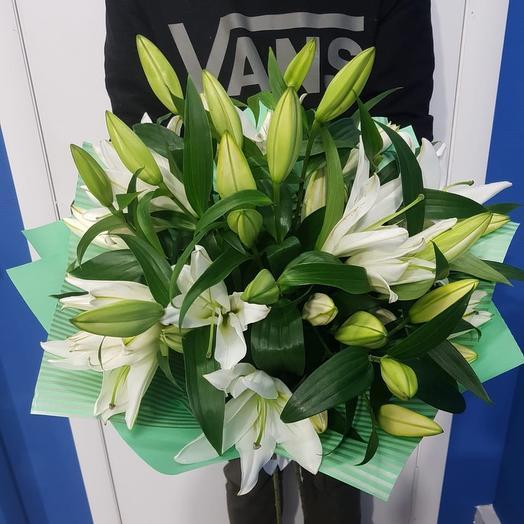 11 Шикарных Лилий: букеты цветов на заказ Flowwow