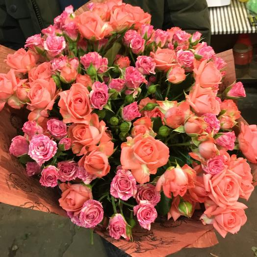 Bouquet of roses: flowers to order Flowwow