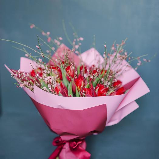 """Букет """"Весенняя искра"""": букеты цветов на заказ Flowwow"""