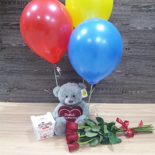 """Подарочный набор """"Сюрприз"""": букеты цветов на заказ Flowwow"""