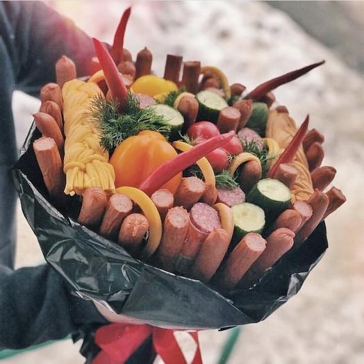 Ассорти букет «Пикантный»: букеты цветов на заказ Flowwow