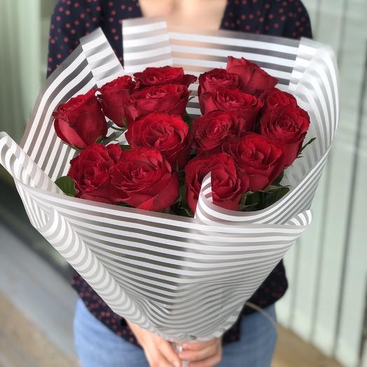15 роз премиум: букеты цветов на заказ Flowwow