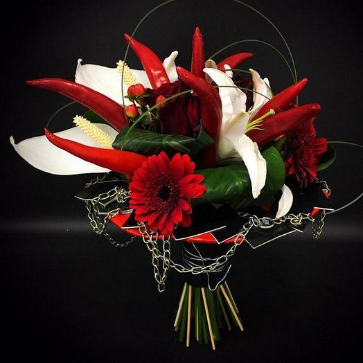 Букет Цепная реакция: букеты цветов на заказ Flowwow