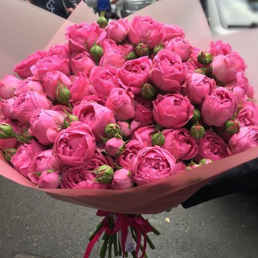 Букет шикарных мистибаблз: букеты цветов на заказ Flowwow
