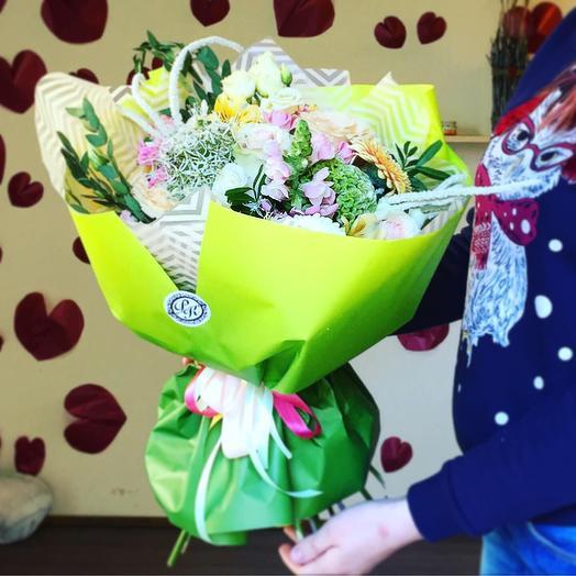 «Яблочный мармелад»: букеты цветов на заказ Flowwow