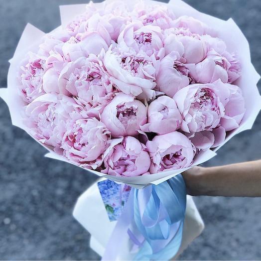 Пионы магические: букеты цветов на заказ Flowwow