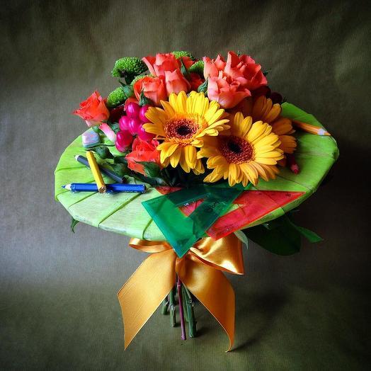 Букет на 1 Сентября 7: букеты цветов на заказ Flowwow