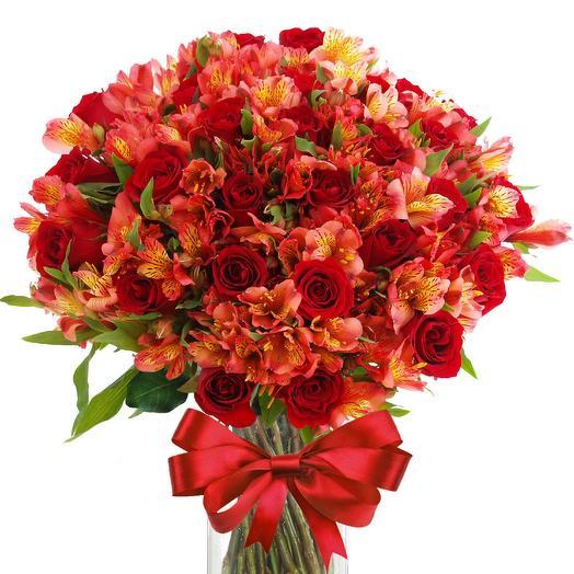 Осенняя полянка: букеты цветов на заказ Flowwow