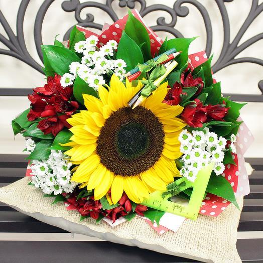 """Букет """"Алфавит"""": букеты цветов на заказ Flowwow"""