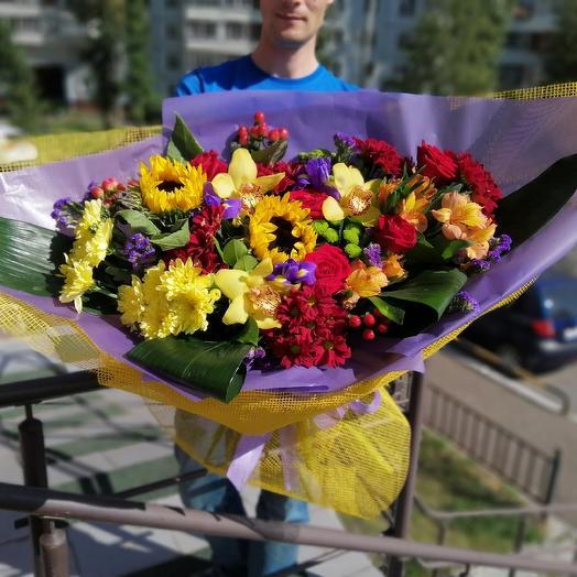 Шикарный: букеты цветов на заказ Flowwow