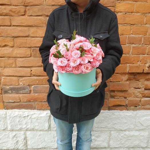 Розовая пелена: букеты цветов на заказ Flowwow