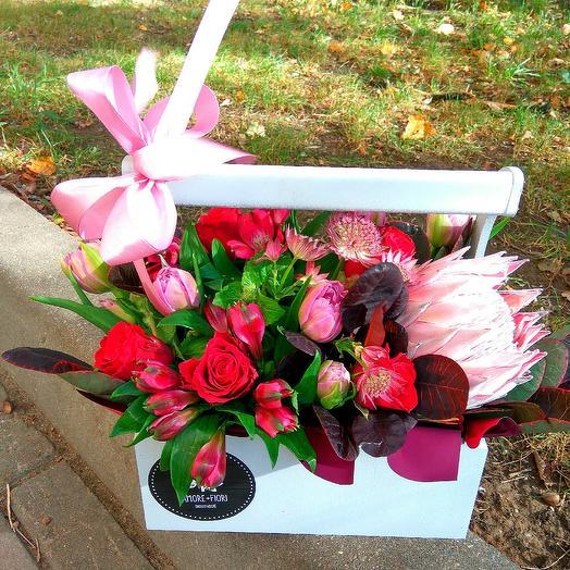 Любовь - страсть: букеты цветов на заказ Flowwow