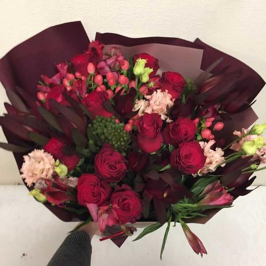 Мисисс Полина: букеты цветов на заказ Flowwow
