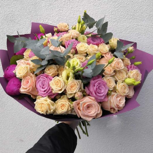 Розовый восторг: букеты цветов на заказ Flowwow