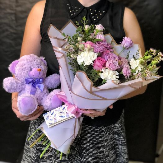 Букет Лунный Сахар: букеты цветов на заказ Flowwow