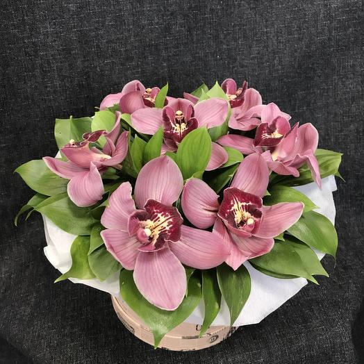 Коробка престиж: букеты цветов на заказ Flowwow