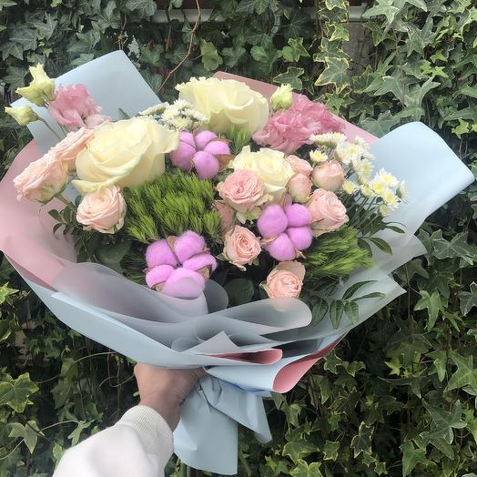 Чувство: букеты цветов на заказ Flowwow