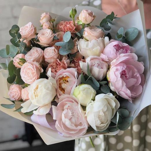 Букет цветов ,,Изысканная нежность