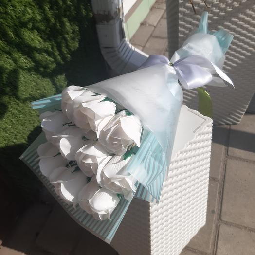 Букетик мыльных роз