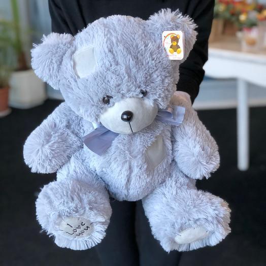 Мишка Тед голубой