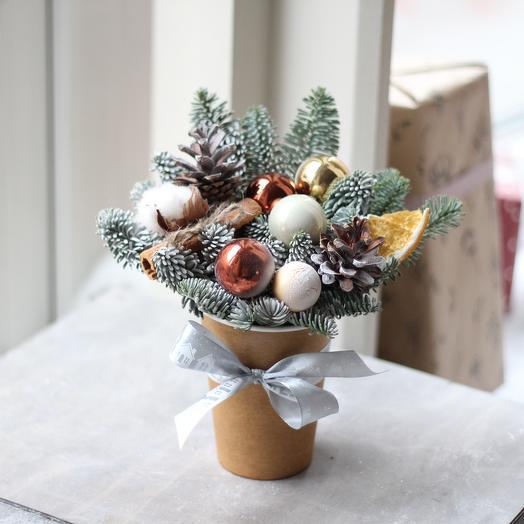 Рождественский стаканчик