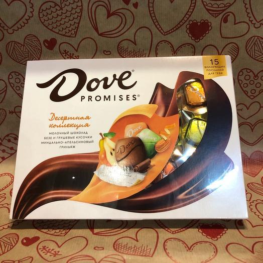 Конфеты шоколадные Dove promises