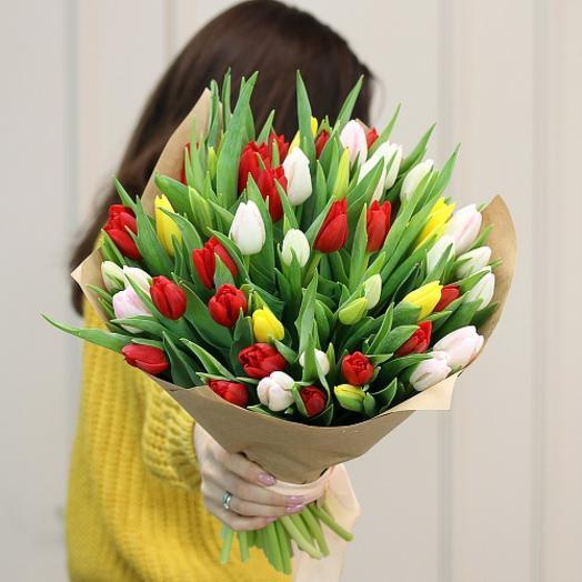 """Букет """"51 тюльпан"""""""