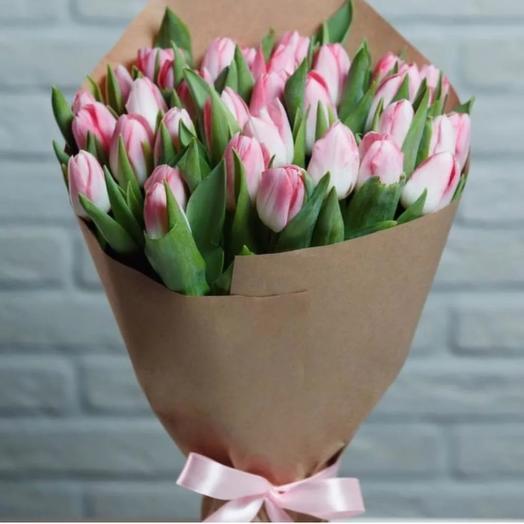 Тюльпаны Розовые сортовые премиум