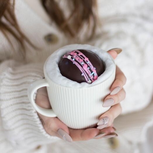 Шоколадная бомбочка