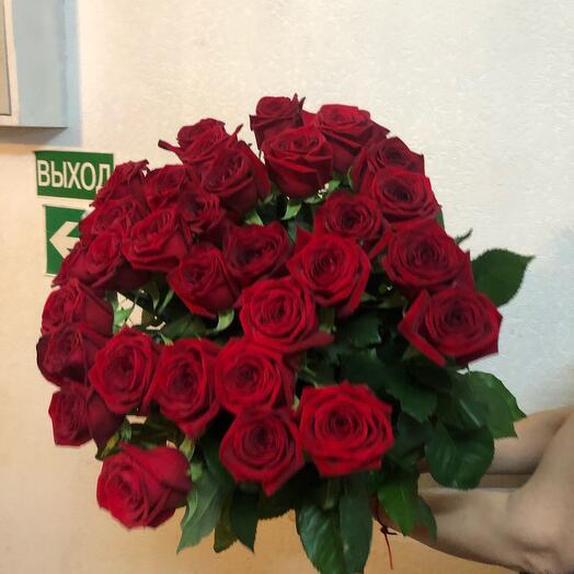 Розы 31 штука 70 см