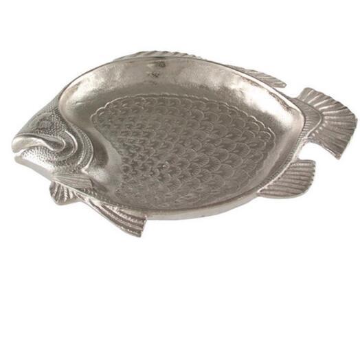 Блюдо Gianni fish nickel 34*27 Kaheku