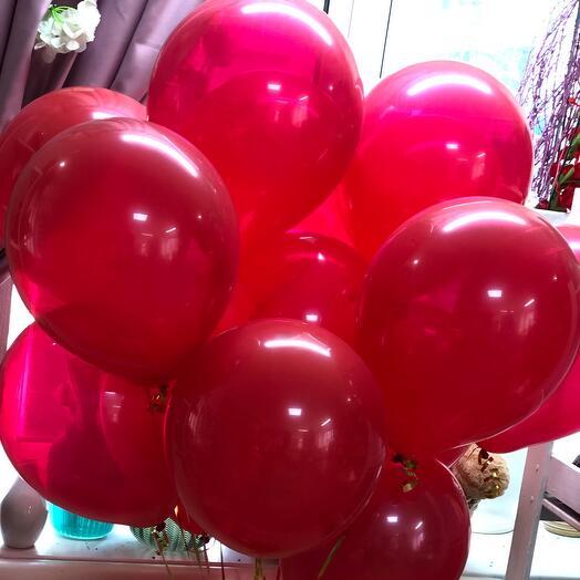 Красные шары 15