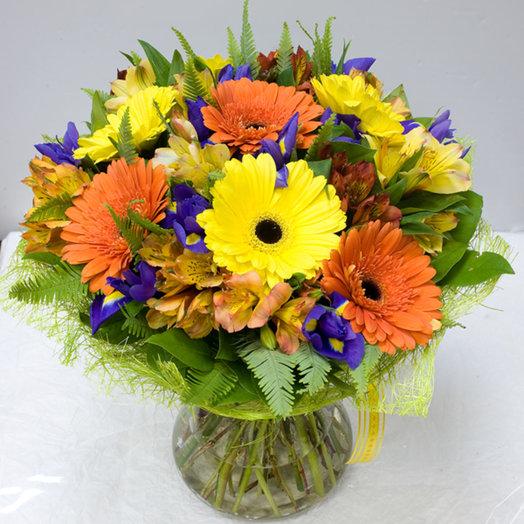 Букет цветов Самоцветы: букеты цветов на заказ Flowwow