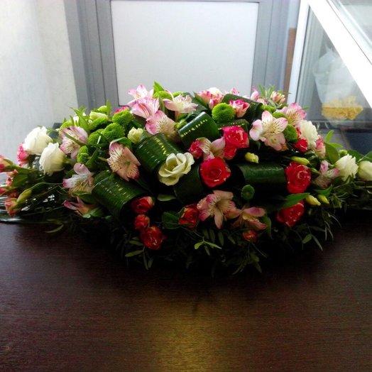 Настольная композиция N1: букеты цветов на заказ Flowwow