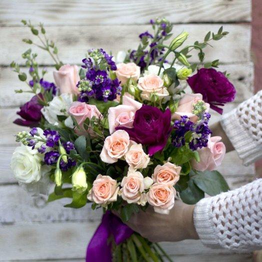 Брызги шампанского: букеты цветов на заказ Flowwow